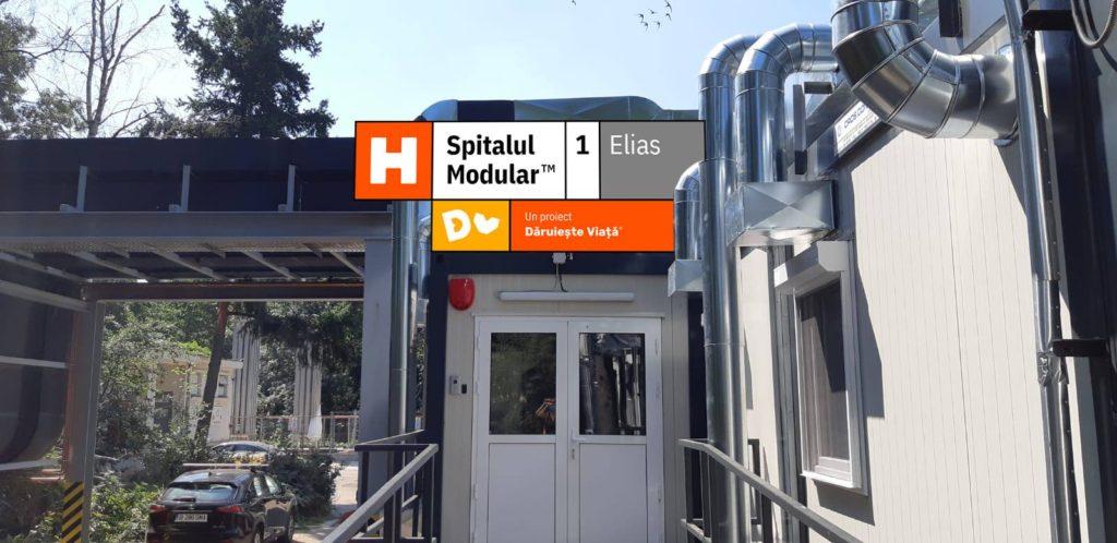 Ne-am implicat pentru construcția în timp record a Spitalului Modular Elias 1